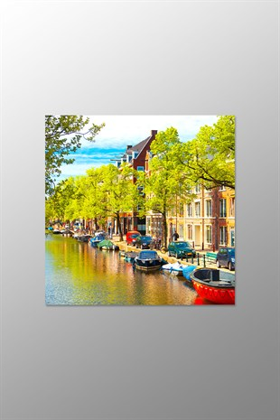 Amsterdam Kanvas Tablo