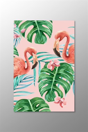 Flamingo Kanvas Tablo